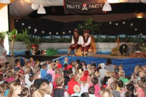 Piraten kinderprogramma schoolreis kinderfeestje