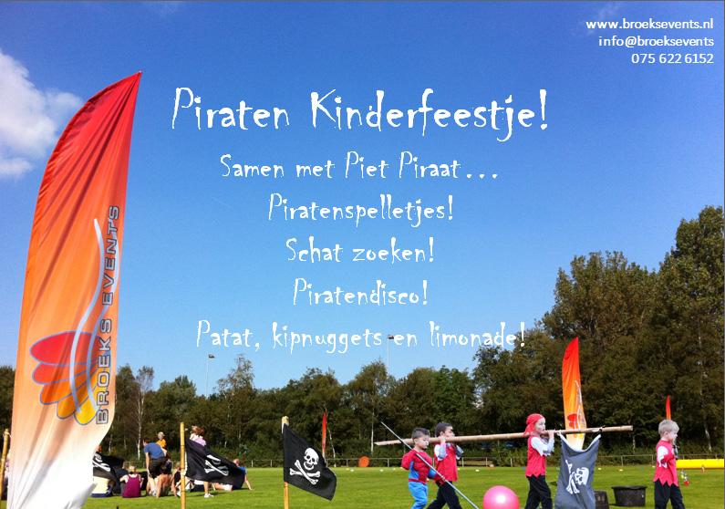 Piraten kinderfeestje voorstel