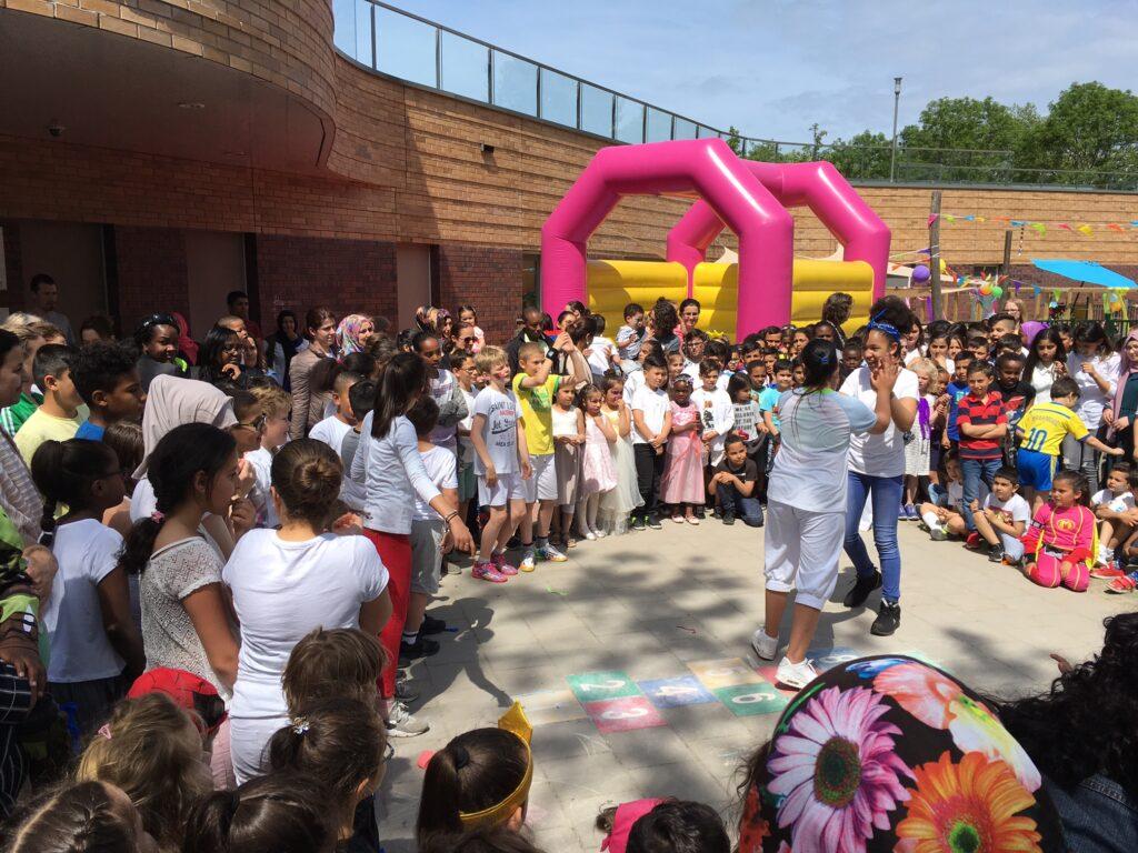 Naschoolse activiteit capoeira